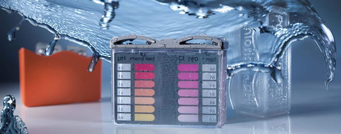 Lovibond Pooltester original Chlor pH Wassertest Analytik Pool Wasserwerte